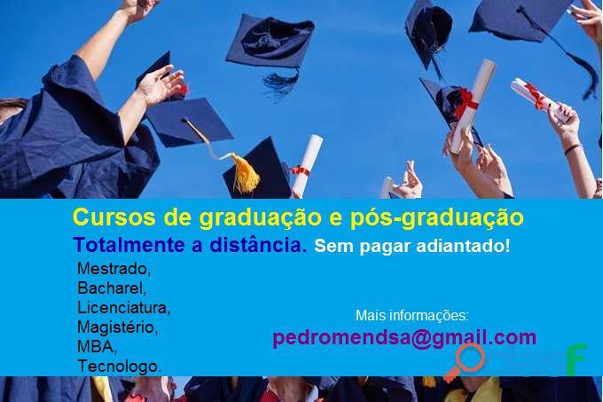 Comprar diploma superior sem pagar adiantado
