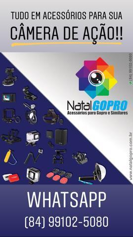 Acessórios para câmeras gopro, sjcam, sony e câmeras