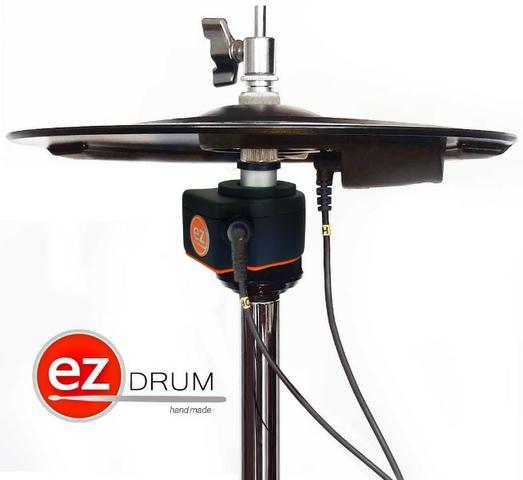 Hi hat controlador de chimbal eletronico ezhc01- novo com