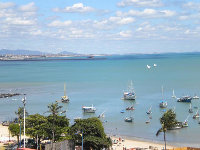 Aptm Beira Mar p.4pess., Ar, TV, Wi-Fi, vista para o mar,