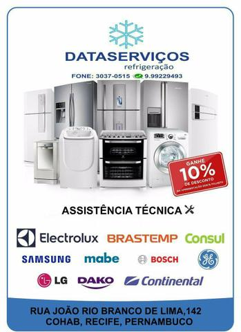 Data serviços assistência técnica maquina de lavar