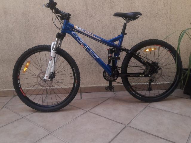 Bike khs, pouco uso, com opcionais