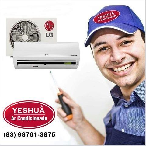 Instalação, limpeza e manutenção ar condicionado