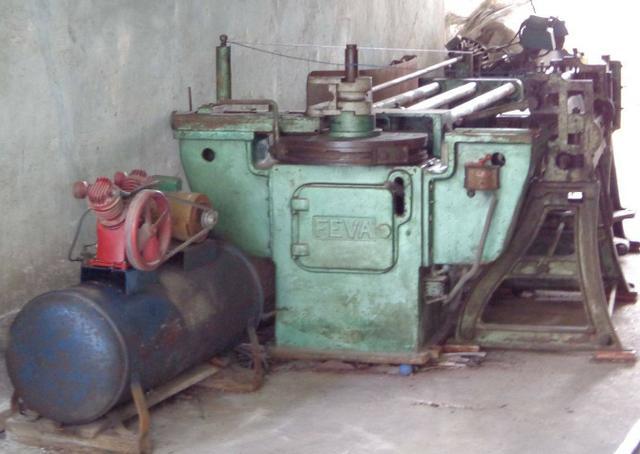 Maquinário, ferramentas e dispositivos para produção de