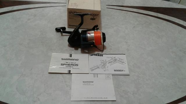 Molinete shimano - aero spheros - 5000 - f