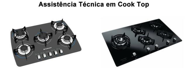 Instalação/conversão de gás/conserto de cooktop