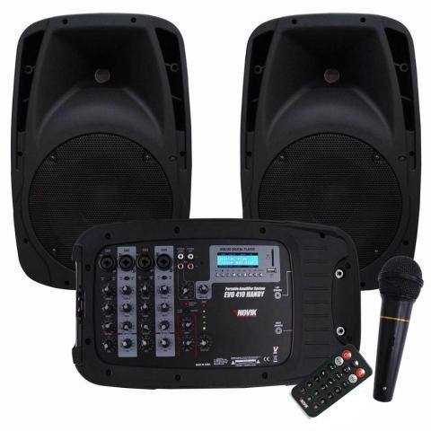 Kit novik amplificador portátil evo-410