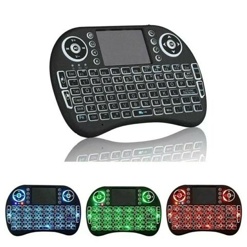Mini teclado wireless bluetooth smart tv boxtv xbox pc ps3