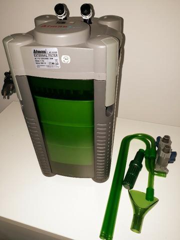 Filtro externo canister atman - at-3336 - vazão máxima