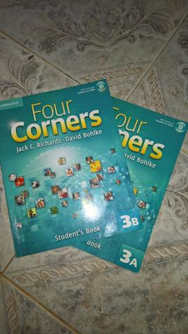 Four corners level 3 students book with self-stud