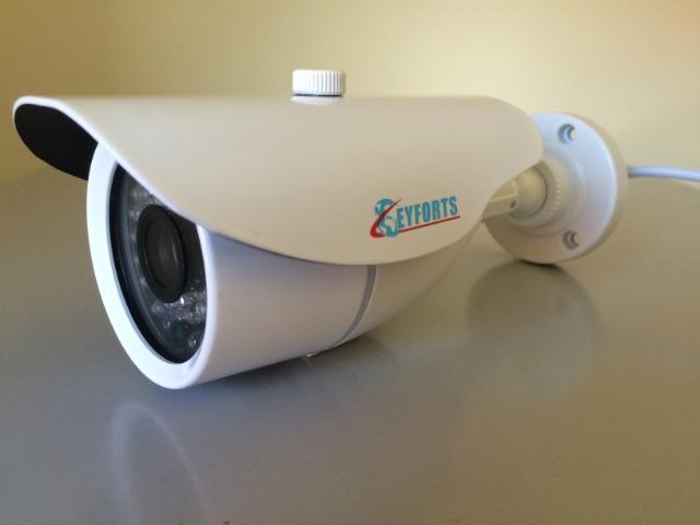 Câmeras cftv - 30m - 12mm - ccd 1/3 sony - infravermelho -