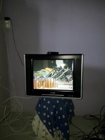 Tv 21flat,c/garantia, entrego, troco,cartão