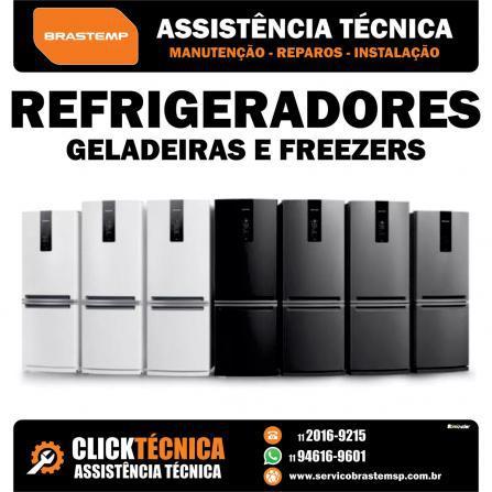 Assistência refrigerador side by side brastemp