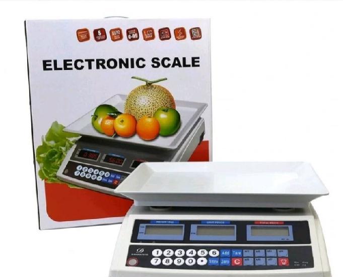 Balança digital eletrônica 40kg-entregamps em domicílio