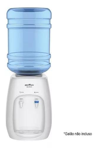 Bebedouro de água de mesa britânia áqua bivolt branco