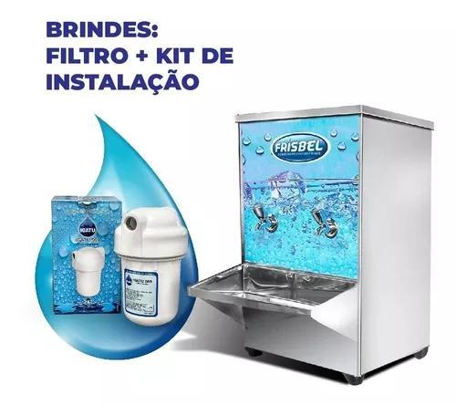 Bebedouro industrial de mesa 20 litros inox garantia + selo