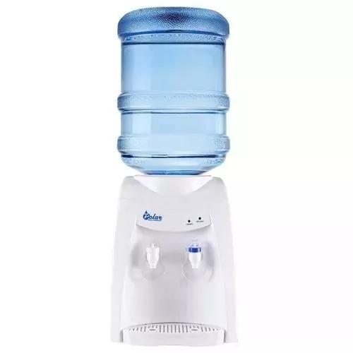 Bebedouro água elétrico gelada branco galão filtro 220v