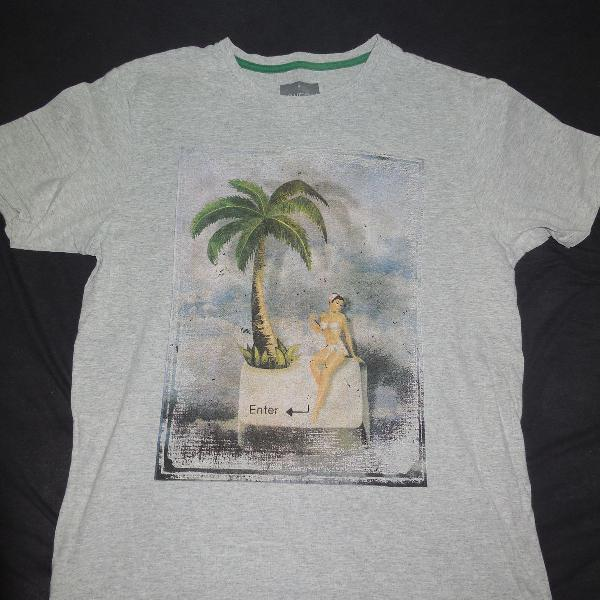 Camiseta youcom estampa de surf