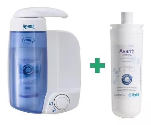 Filtro purificador água compacto ibbl avanti mio refil