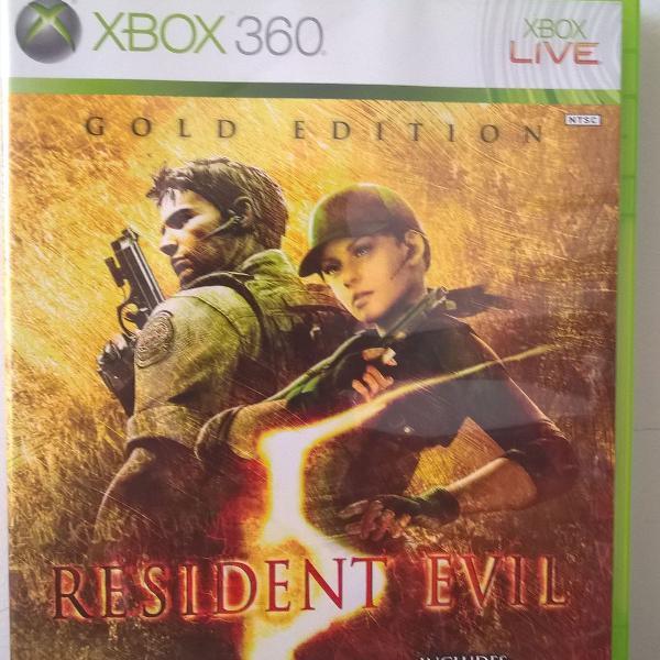 Game resident evil 5- xbox 360