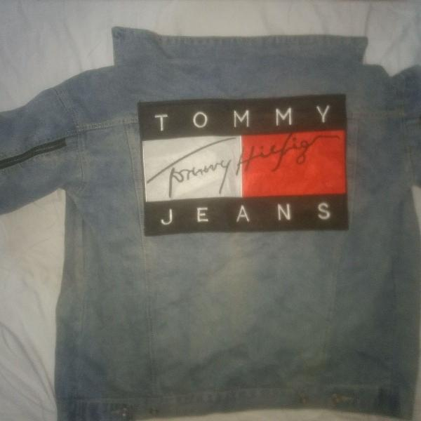 Jaqueta jeans tommy hilfiger tommy jeans rp importada