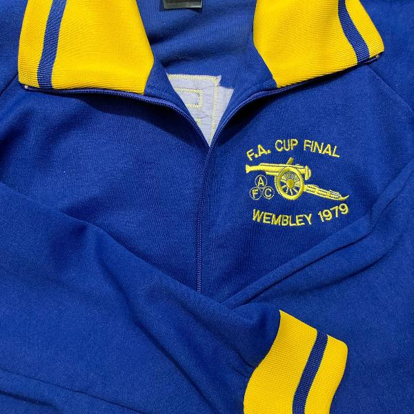 Jaqueta retro arsenal - fa cup 1979! comprada no emirates