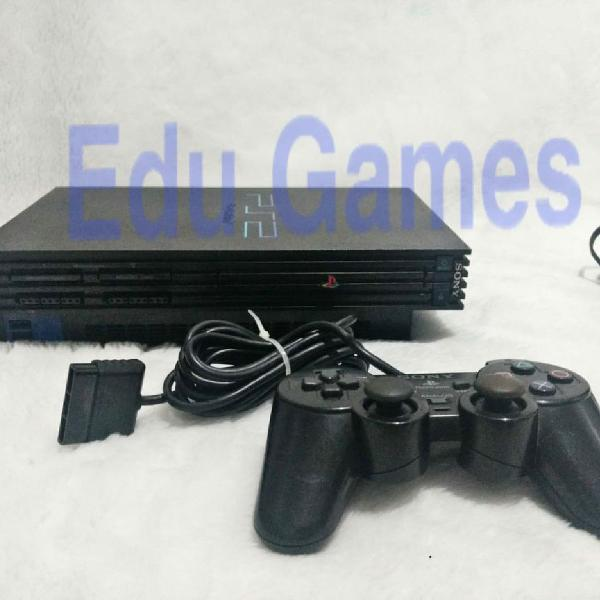 Playstation 2 fat destravado leitor 100%