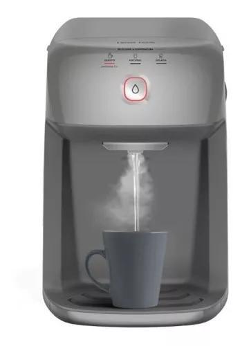 Purificador de água electrolux ph41x cinza com refrigeraç