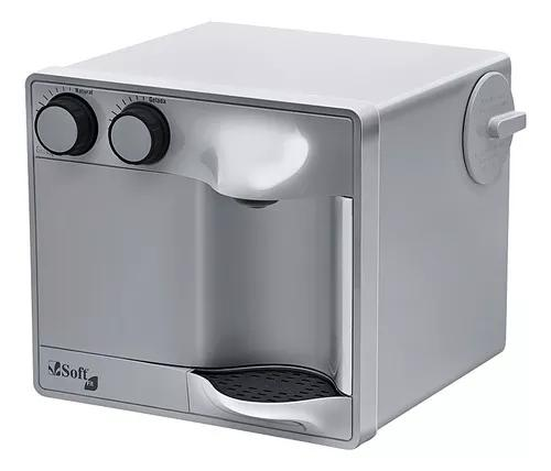 Purificador água refrigerado por compressor soft fit prata