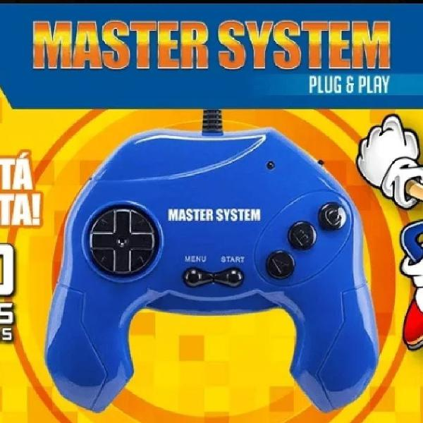 Video game master system com 40 jogos