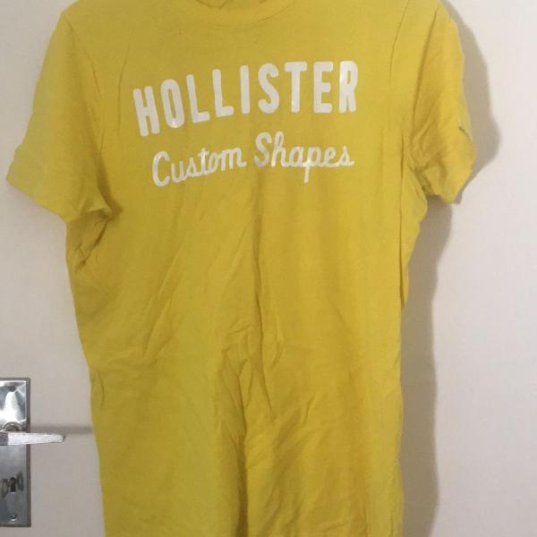 Blusa hollister amarela