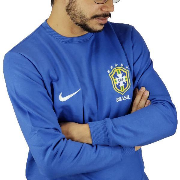 blusa moletom nike seleção brasileira 2018