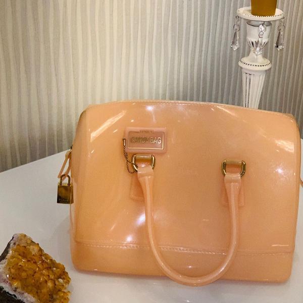 Bolsa furla modelo candy bag, made in italy