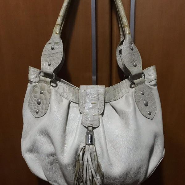 Bolsa marfim tamanho grande