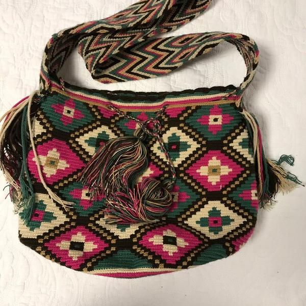 Bolsa wayuu, colombiana original