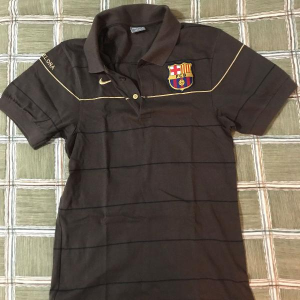 Camisa polo barcelona nike