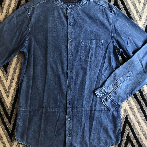 Camisa jeans long