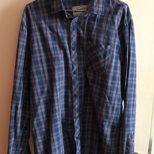 Camisa xadrez cotton on tam.g