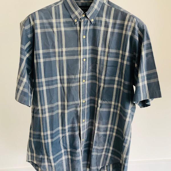 Camisa xadrez richard travellers shirt tamanho 3