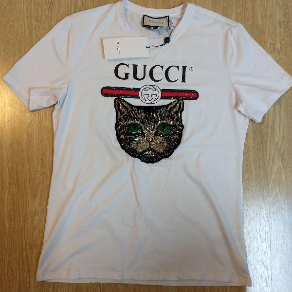 Camiseta gucci manga curta