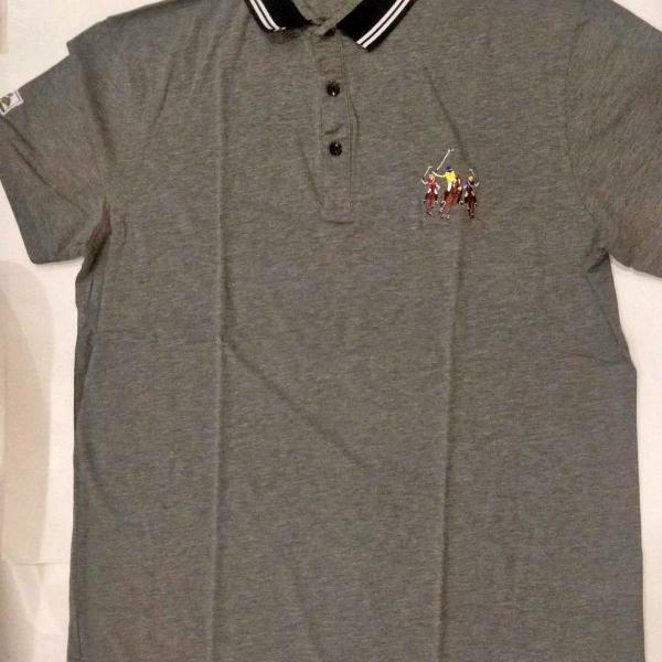Camiseta polo manga curta polo ralph lauren