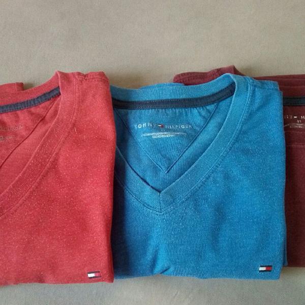 Camisetas masculina tommy hilfiger, originais