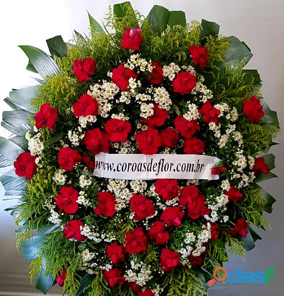Coroas de flores cemitério flamengo em contagem 31 991944830 em belo horizonte