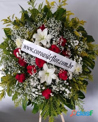 Coroas de flores em contagem, 199,00 entregas de coroas de flores cemitério flamengo em contagem mg