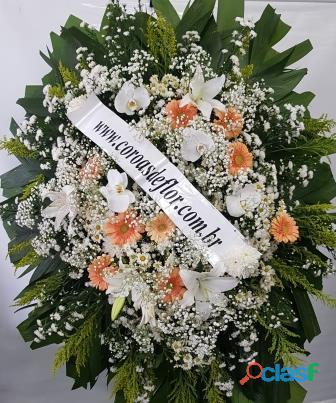 Coroas de flores em contagem, entregas de coroas de flores cemitério flamengo em contagem flora mg e