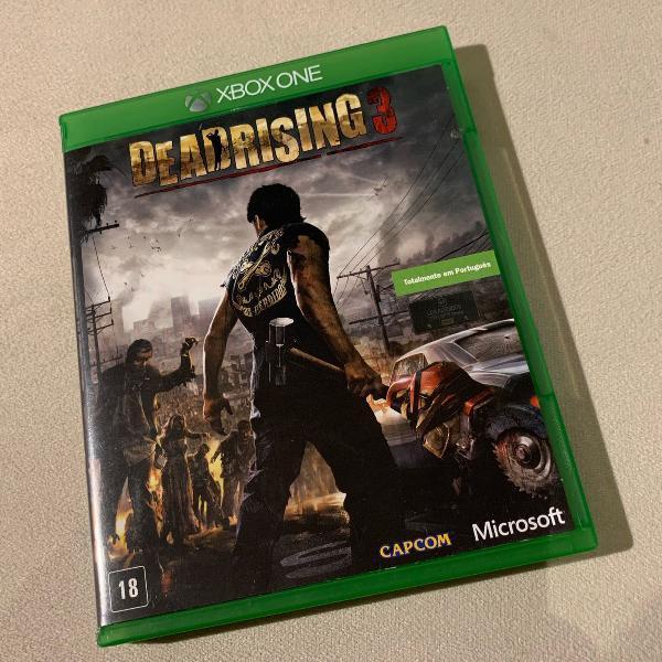Dead rising 3 para xbox one - totalmente em português