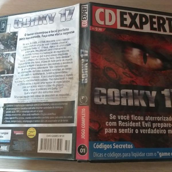 Gorky 17 cd rom jogo para pc cd expert