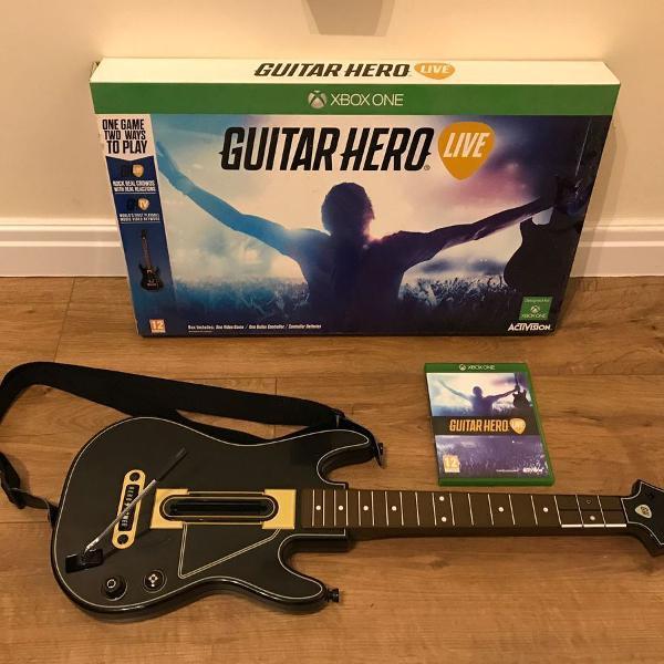 Guitar hero live xbox one