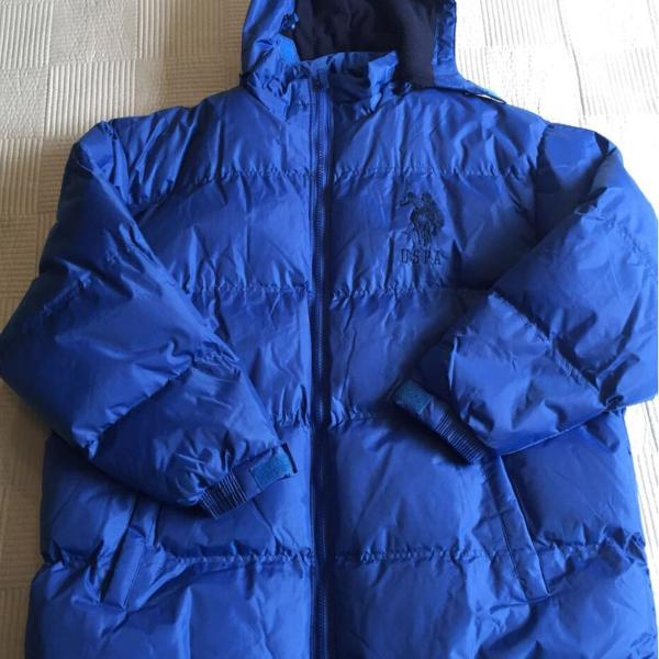 Jaqueta masculina em nylon, gomada matalasse, com capuz