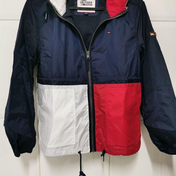 Jaqueta masculina tommy hilfiger - tamanho p